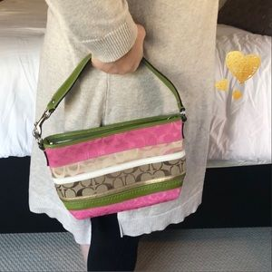 (Price Firm) Small Signature Coach Bag